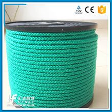 With Factory Price 8mm Round Polyester Pp Multifilament Braided Rope