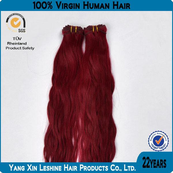 YBY La Vente Chaude Vierge Remy Non Transformés Aucun Embrouillement Et Rejet de Cheveux Humains Remy Armure Violette Cheveux