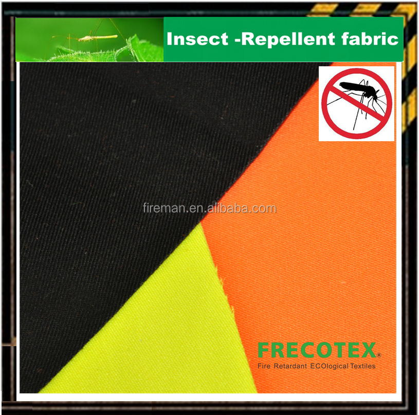 Insect & Bacteria protection 100%cotton mosquito repellent and insect fabric