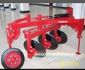 mounted reversible disk plow