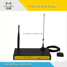 F7434 m2m cellular industrial WIFI GPS 3g tracker router modem for AVL fleet management