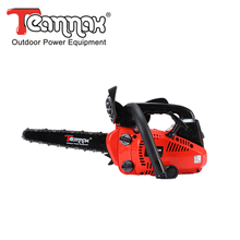 Chinese top handle 25cc gasoline cheap carving chainsaws for sale