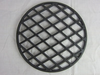 Cast Iron Sear Grate with Porcelain Enamel Coating/29.6 * 29.6 * 0.9cm