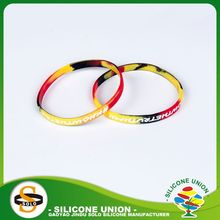 scannable wristband silicone bracelet cheap custom thin silicone bracelet