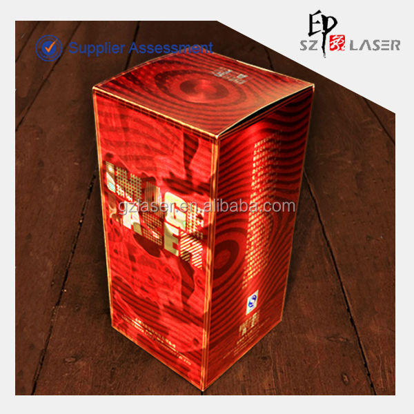 Hologram bopp transparent laminating film for wine packaing in roll form