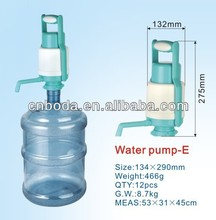 bottled drinking hand electric water pump bottle