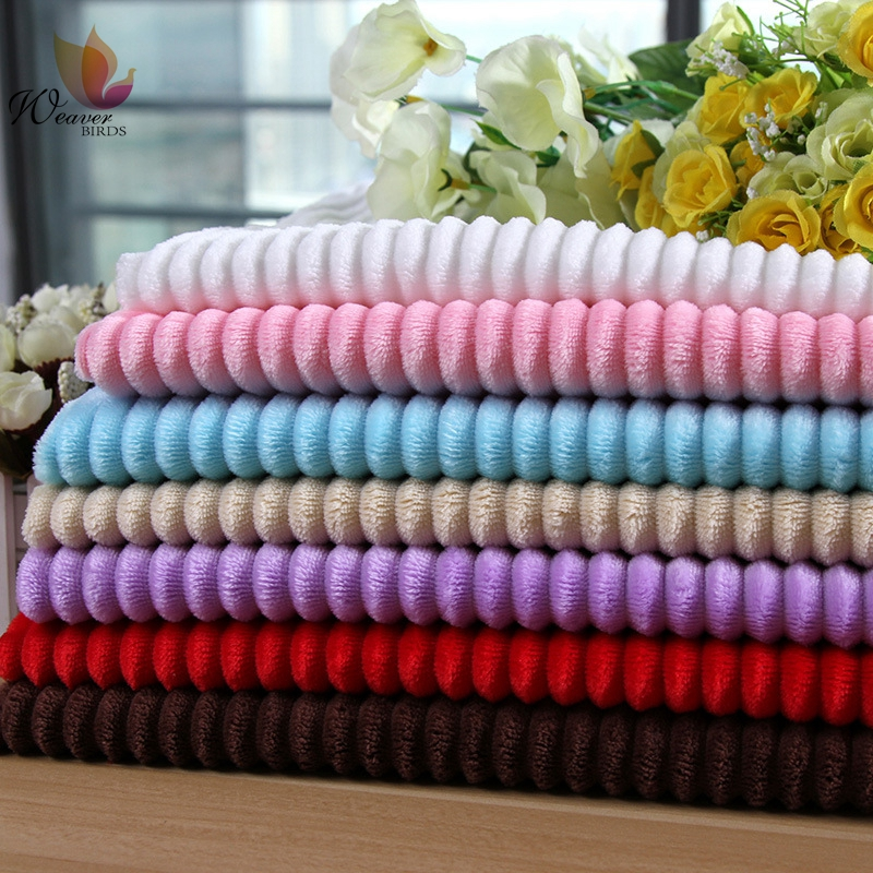 New Arrival 100% Polyester Corduroy Fabric Knitted 2.5 Wale Corduroy Fabric Home Textile/Toy Fabric