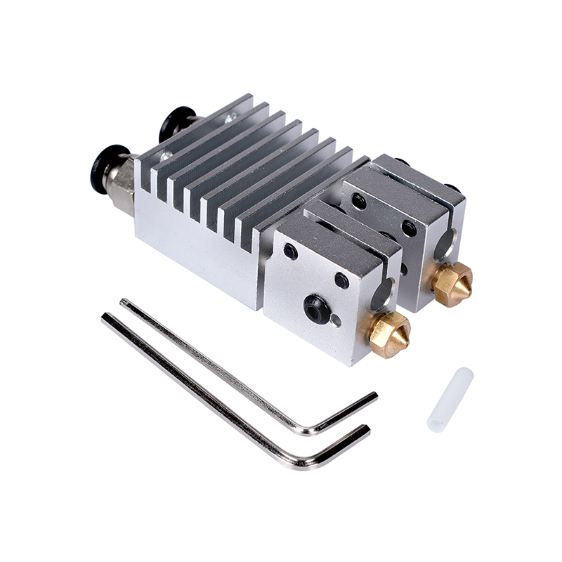1.75 mm 3D Printer Single Color Mixing Extruder Head Latest Upgraded Version Of The All-Metal Extrusion Head HotEnd H314