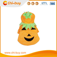 Chi-buy Wholesale Pet Halloween Costum Costumes Bluk Pumpkin Dog Clothing Dog Clothes Free Shipping on order 49usd
