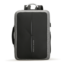 Mark Ryden New Anti-thief USB Recharging Men Backpack NO <strong>Key</strong> TSA Lock Design Men Business Fashion Message Backpack