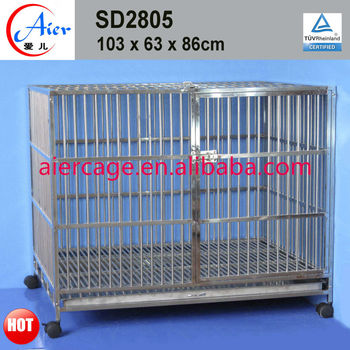 pet supply stainless steel dog kennels