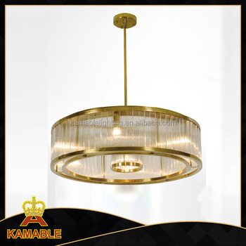 zhongshan Decorative stainless steel glass hanging lights