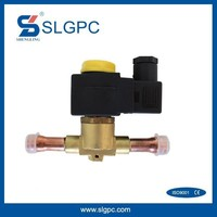 Hot selling on google freezing industry SV1068/4 EVR refrigeration Media R22 refrigerant solenoid valve
