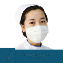 Germany PP material Physical inactivation medical barrier surgical masks/excellent filtering bacteria and PM2.5