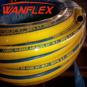 Italy quality factory flexible compressor rubber air hose