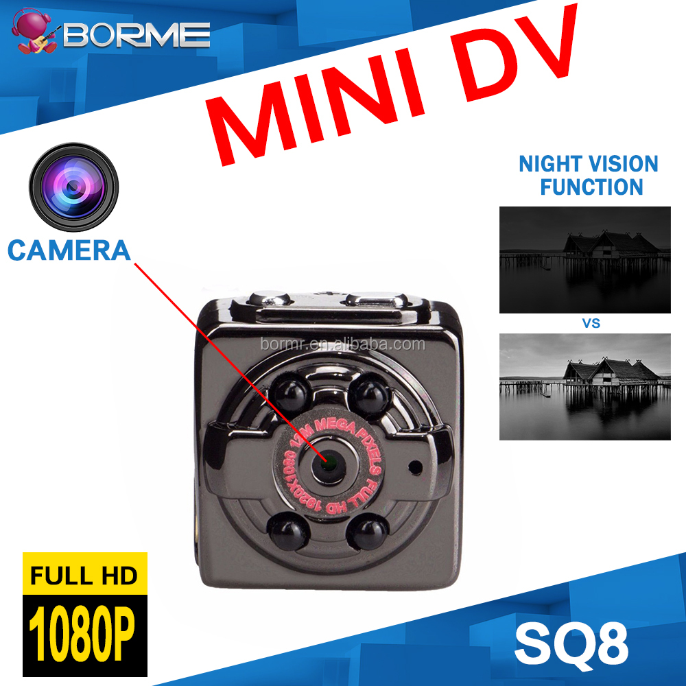 HD mini camera hidden camera with night vision function for home <strong>security</strong>