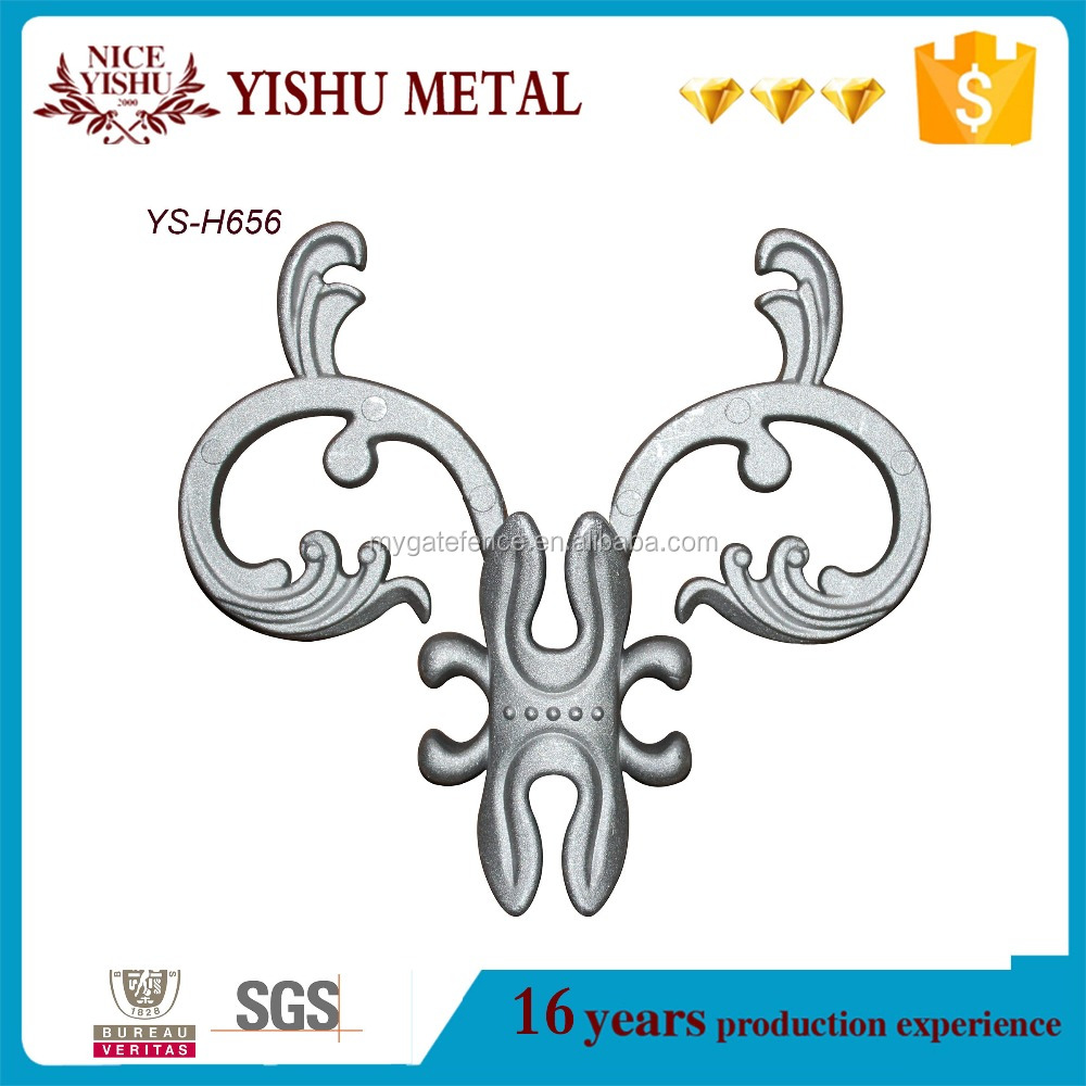 metal scrolls for gates,steel gate decorations,steel balusters for stairs
