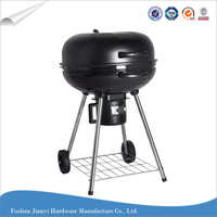 Factory price portable charcoal kettle bbq grill machine