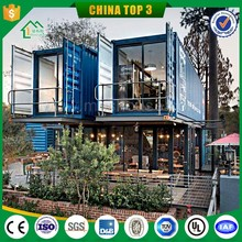 20ft/40ft movable food store prefab container coffe shop