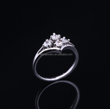 2017 fashion pt900 diamond ring with good service
