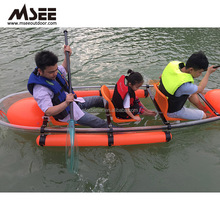 Wholesale Polycarbonate Material Transparent Plastic Boat For Glass Bottom Boat Sale