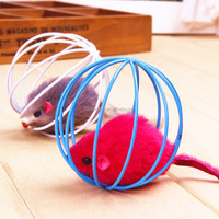 Pet Toys Round Rat Cage Cat Scratch Small Cat Toys Bulk with package