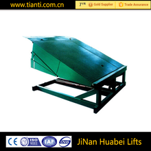 Ce approved Portable adjustable height yard ramp loading ramp for hot sale