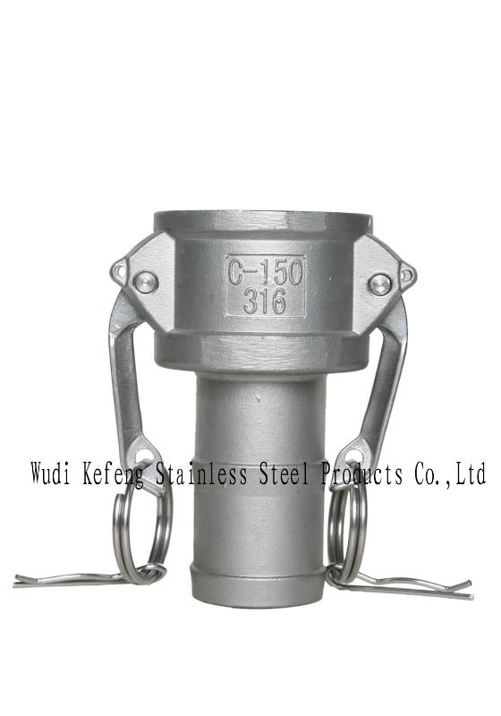 stainless steel cam&groove couplings