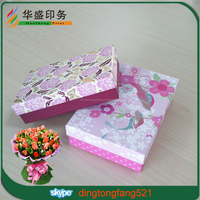 Wholesale custom gift and packaging rigid cardboard paper box