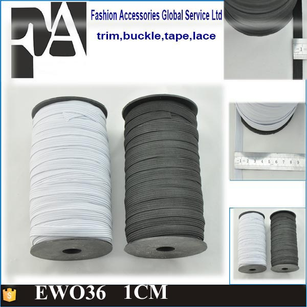 Fashion Wholesale White Woven Elastic Band for Dresses