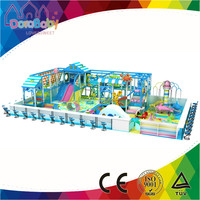HSZ-KIndia4 Indoor Electric Products Ocean Theme with 3 Plastic Indoor Playground Equipment