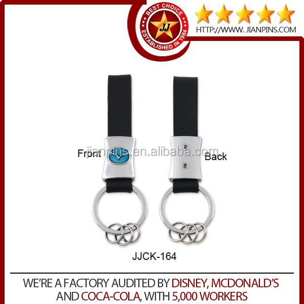 Luxurious promotional custom car logo keychain