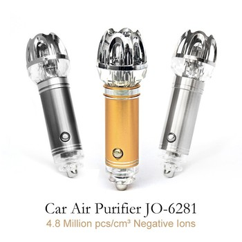 Best Selling 12V Car Ionizer Mini Air Purifier with Oxygen Generator JO-6281 (CE Fcc RoHS approval)