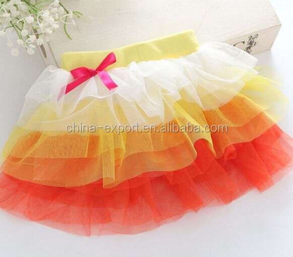 JPSKIRT1504012 new design 2015 lace girl skirt in summer kid tutu