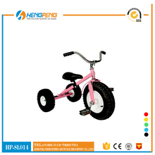 plastic tricycle kids bike with back seat children tricycle carrier bicycle for sale