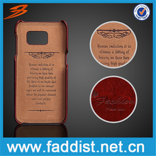 China factory pu leather cell phone case For Samsung Galaxy S7