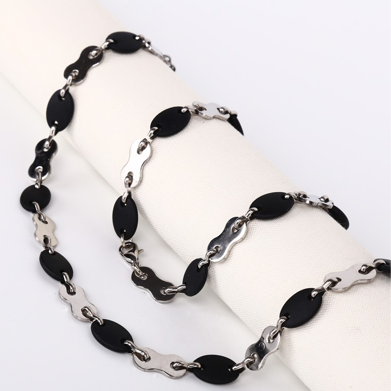 Handmade Necklace Stainless Steel Chain Charm Jewelry