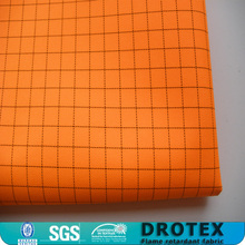 100% polyester esd conductive fabric for lab coat