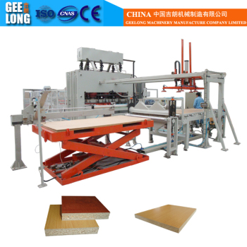 1200T 6*8ft Melamine Lamination Hot Press machine for Chipboard