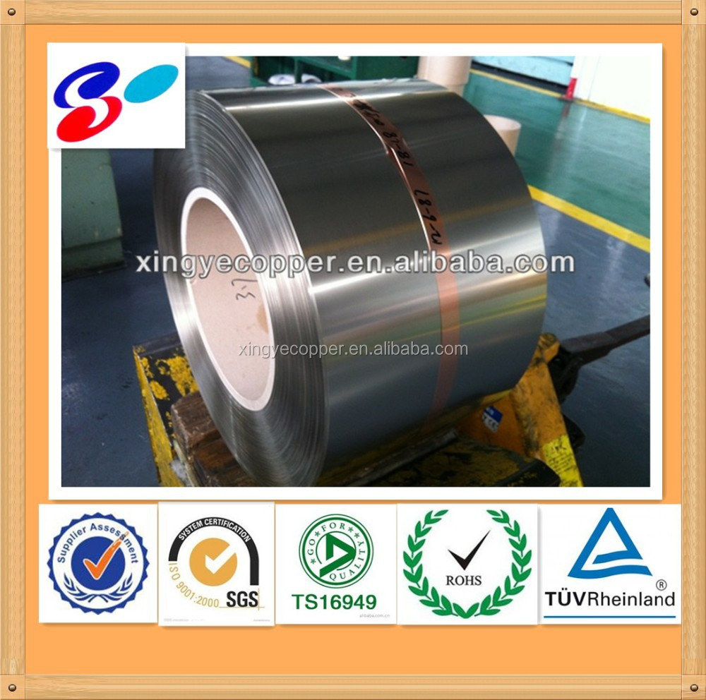2014 silver copper bimetal strip