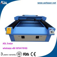 good quality 1325 metal and non-metal laser cutting machine engraving100wfor all kinds of material