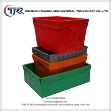 Uv Stabilized Colorful Plastic Largest Us Corrugated Box Manufacturers