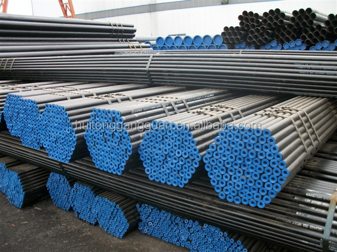 Various sizes mild schdule 40 astm a106 grade b seamless steel pipe in stock with CE certificate