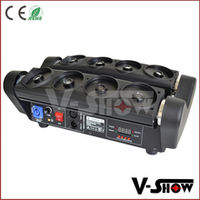 China top stage lighting laser beams rgb led spider moving head light, Christmas lasers for dj events