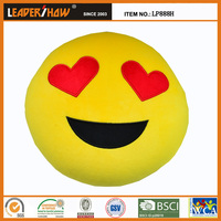 Variety cute plush emoji pillow for home decorative and gift for your friend