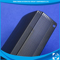 Metal Promotional etching speaker box line array system grille