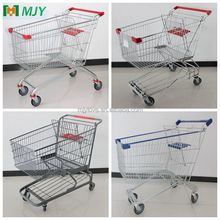 60-275 liters supermarket shopping trolley cart