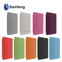 Useful Ultra-thin Back Cover For Ipad mini 3 Leather Case / Customize Useful For Ipad Mini 3 Fold Case Made In China