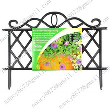Plastic Garden Border Fence Edging Fencing