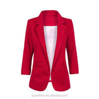 Juqian High Quality Colorful Women's Business Suit female blazers